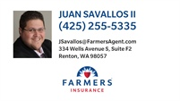 Farmers Insurance - Juan Savallos II