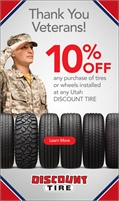 Discount Tire Company - 22 Locations Serving Utah