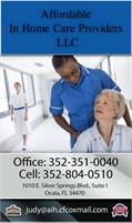 Affordable In Home Care Providers LLC