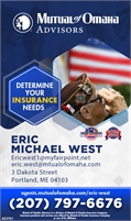Mutual Of Omaha Advisors - Eric Michael West