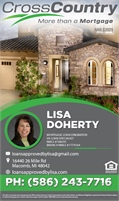 CrossCountry Mortgage Inc - Lisa Doherty