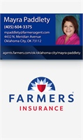 Farmers Insurance - Mayra Paddlety