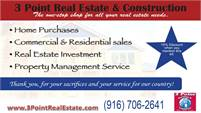 3 Point Real Estate & Construction