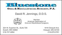 Bluestone Oral & Maxillofacial Surgery, P.A.