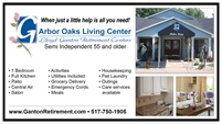 Lloyd Ganton Retirement Centers | Arbor Oaks Living Center