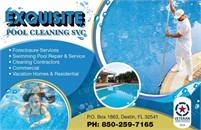 Exquisite Pool Cleaning Service