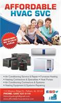 Affordable HVAC Service