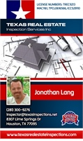 Texas Real Estate Inspection Services, Inc. | Jonathan Lang
