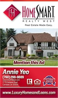 Annie Yeo at Carlsbad, HomeSmart Realty West