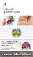 Affordable Hearing Solutions • Eve Leinonen, Au.D