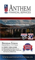 Anthem Financial Service Inc - Brenton Fewox