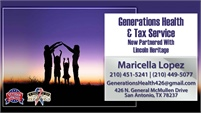 Generations Health & Tax Services Lincoln Heritage