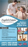 English Estates Assisted Living Facility Inc