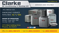 Clarke Air Conditioning And Heating LLC