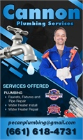 Cannon Plumbing Services