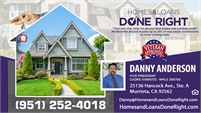 Homes And Loans Done Right - Danny Anderson