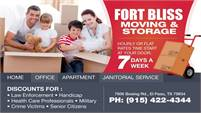 Fort Bliss Moving & Storage