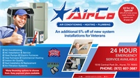 AirCo Air Conditioning Heating & Plumbing