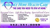 Abidance Home Health Care