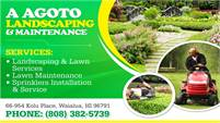 A Agoto Landscaping & Maintenance
