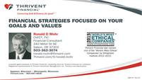 Thrivent Financial - Ronald D. Mohr, Financial Consultant