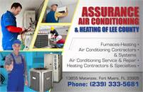 Assurance Air Conditioning & Heating of Lee County