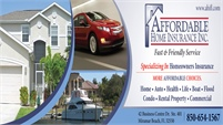 Affordable Home Insurance Inc