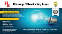 Henry Electric, Inc.