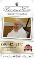 Barton House Alzheimer Personal Care