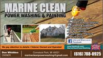 Marine Clean Power Washing and Painting