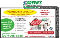 Green's Sewer & Drain Service