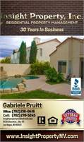 Insight Property, LLC • Gabriele Pruitt