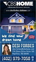 CBSHOME Real Estate - Desi Forbes