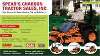 SPEAR'S CHARDON TRACTOR SALES, INC.