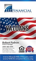 1st Financial Inc - Robert Padron