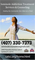 Seminole/Substance Addiction Treatment Services & Counseling