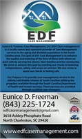 Eunice D Freeman Case Management