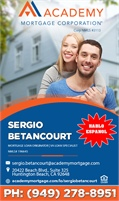 Academy Mortgage Corporation - Sergio Betancourt
