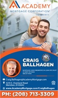 Academy Mortgage Corporation - Craig Ballhagen