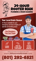 24-Hour Rooter Man Plumbing & Drain Cleaning