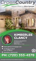 CrossCountry Mortgage Inc - Kimberlee Clancy