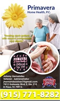 Primavera Home Health PC - Johnny Hernandez