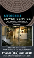 Affordable Sewer Service