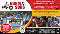 Norm & Sons Tire & Auto Repair