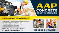 AAP Concrete Construction, Inc.