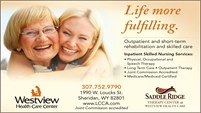 Saddle Ridge Therapy Center at Westview Health Care Center