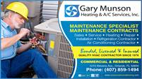 Gary Munson Heating & A/C Services, Inc.