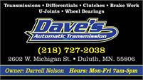 Daves Automatic Transmission