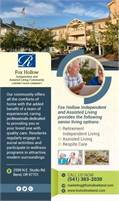 Fox Hollow Independent And Assisted Living