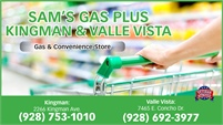 Sam's Gas Plus - Kingman & Valle Vista